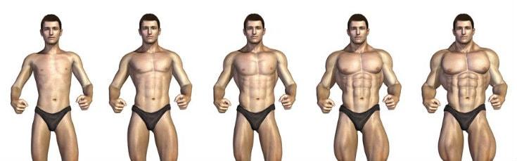 Técnicas para ganar masa muscular